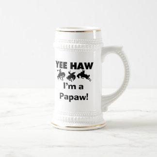 Haw de Yee soy camisetas y regalos de un Papaw Taza De Café