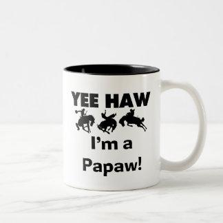 Haw de Yee soy camisetas y regalos de un Papaw Taza