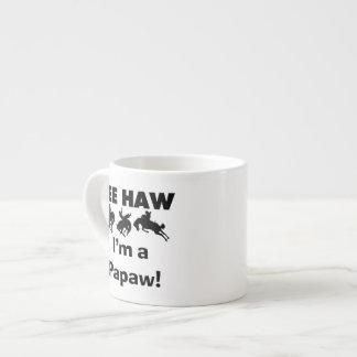 Haw de Yee soy camisetas y regalos de un Papaw Tazas Espresso