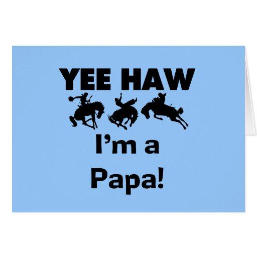 Haw de Yee soy camisetas y regalos de una papá Tarjetón