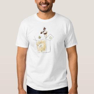 HAW en una camiseta de la caja Poleras