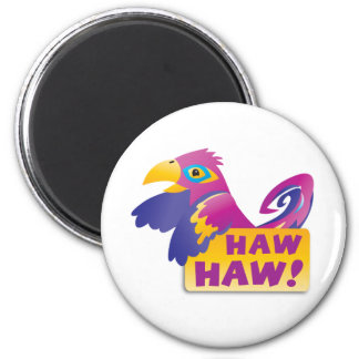 HAW HAW Macaw Magnet