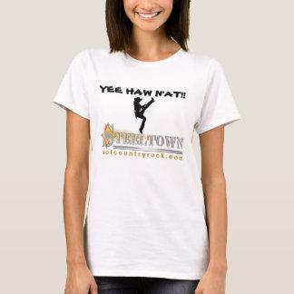 ¡HAW N'AT de Steeltown YEE! Camiseta de la muñeca