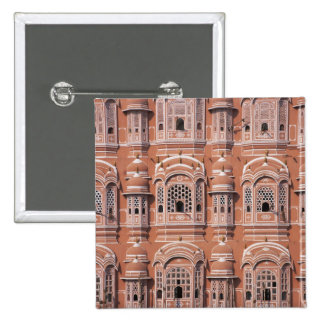 Hawa Mahal (Palace of Winds), Jaipur 2 2 Inch Square Button