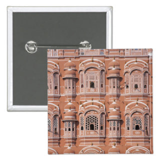 Hawa Mahal (Palace of Winds), Jaipur 2 Inch Square Button