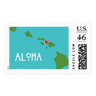 Hawai i Aloha Stamp - Maui Destination Wedding