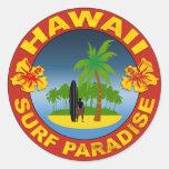 Hawai surf diseño sticker