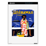 Hawaiana 1920 de Hawaii iPad 2 Skins