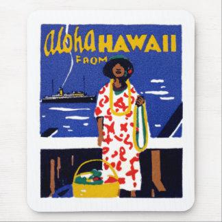 Hawaiana 1920 de Hawaii Tapete De Ratón