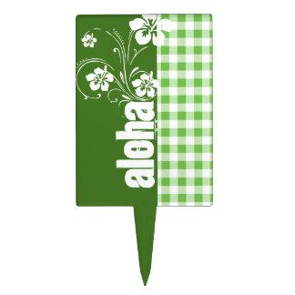 Hawaiana; A cuadros verde; Guinga Figuras De Tarta
