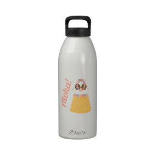 ¡Hawaiana! Botellas De Agua Reutilizables