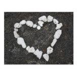 Hawaiana * amor * corazón coralino tarjetas postales