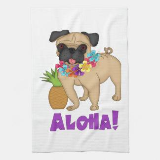 ¡Hawaiana! Camisetas hawaianas del barro amasado y Toallas De Mano