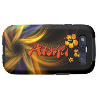 Hawaiana - caso del ambiente de la galaxia S3 de S Samsung Galaxy S3 Cárcasas