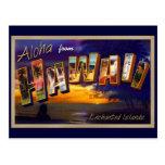 Hawaiana de Hawaii Postales