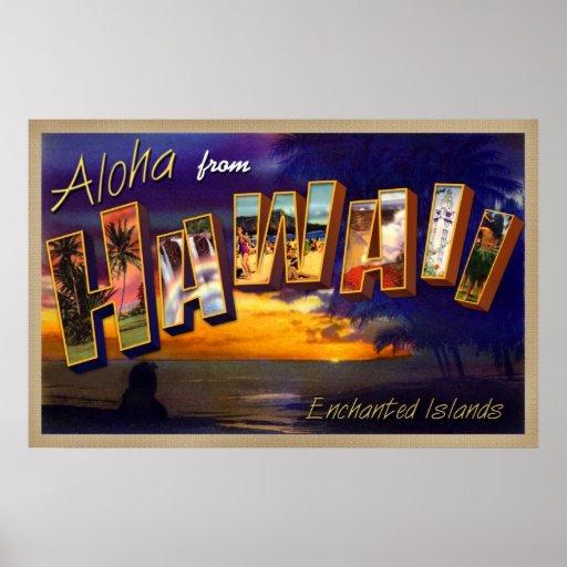 Hawaiana de Hawaii Póster