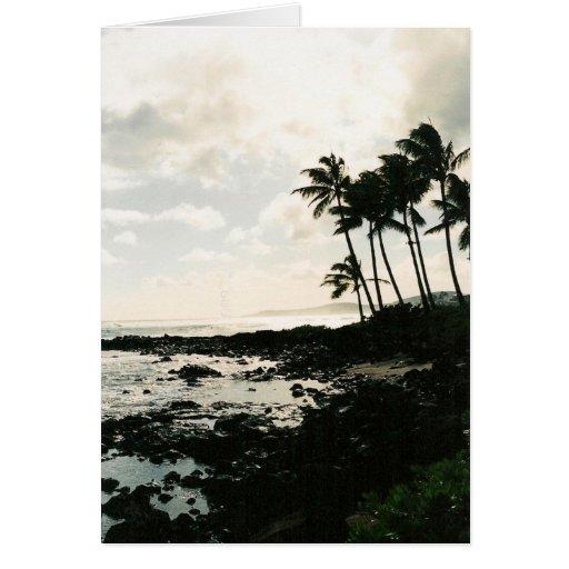 ¡Hawaiana! de Hawaii Tarjeta De Felicitación