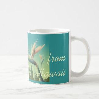 Hawaiana de la taza de la ave del paraíso de