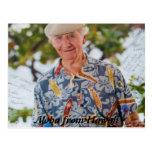 Hawaiana de las postales de Hawaii