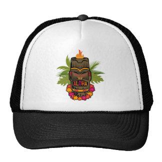 Hawaiana de Tiki Gorro De Camionero