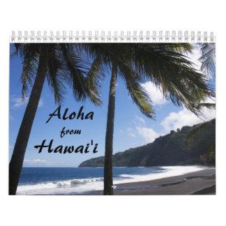 Hawaiana del ` i de Hawai Calendarios De Pared