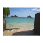 Hawaiana del paraíso impresion de lienzo