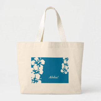 """""""Hawaiana!"""" Flores del hibisco en la bolsa de asas"""