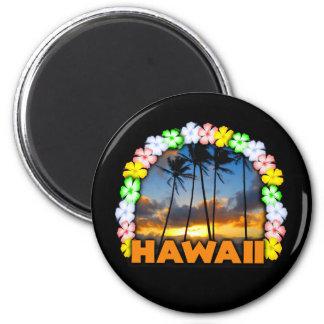 Hawaiana Hawaii Imán Redondo 5 Cm