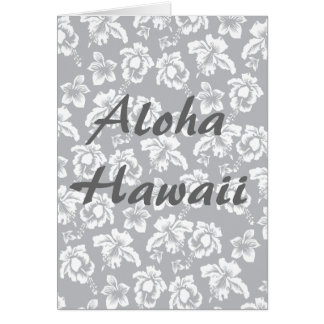 Hawaiana Hawaii Tarjeta De Felicitación