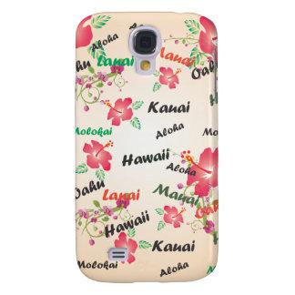 hawaiana, Kauai, Hawaii, Oahu, Maui, fondo del lan Funda Para Galaxy S4