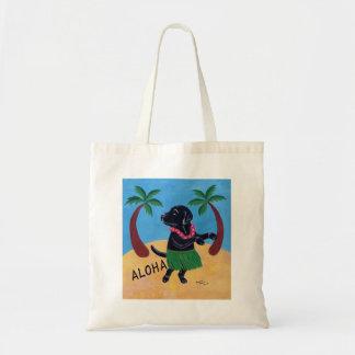 Hawaiana Labrador negro Bolsa Tela Barata