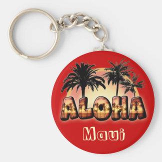 Hawaiana Llavero Redondo Tipo Pin