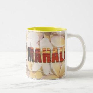 """""""Hawaiana-Mahalo hawaiana"""" (la recepción y le Taza Dos Tonos"""