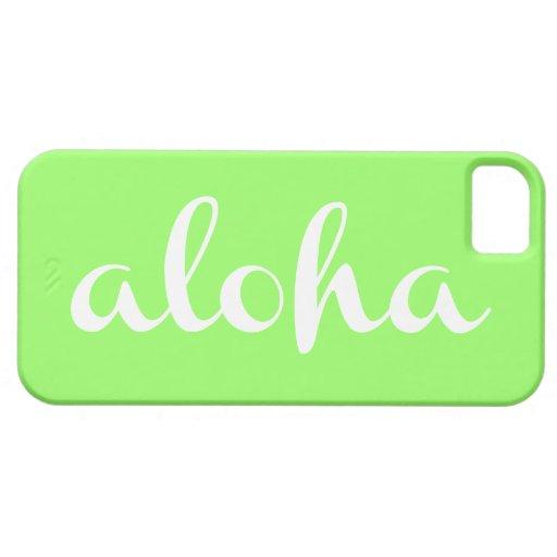 ¡HAWAIANA - modifique su color para requisitos iPhone 5 Case-Mate Protector