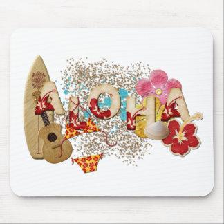 Hawaiana Mousepad Tapete De Ratones