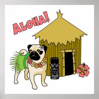 ¡Hawaiana! Posters e impresiones hawaianos del bar