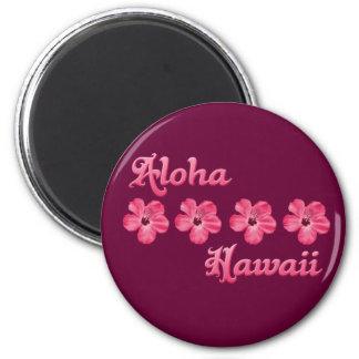 Hawaiana rosada Hawaii Iman De Nevera