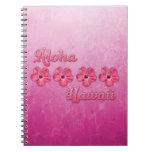 Hawaiana rosada Hawaii Libro De Apuntes