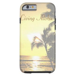 Hawaiana viva de la escena tropical de Hawaii Funda Resistente iPhone 6