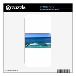 Hawaii2 Skin For iPhone 4S