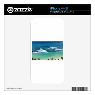 Hawaii3 Decals For The iPhone 4S