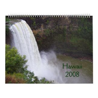 Hawaii 2008 Calendar