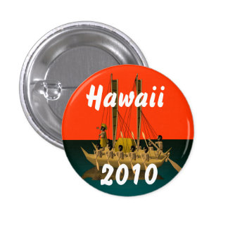 Hawaii 2010 pinback button