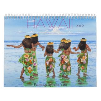 HAWAII 2011 CALENDARIOS DE PARED