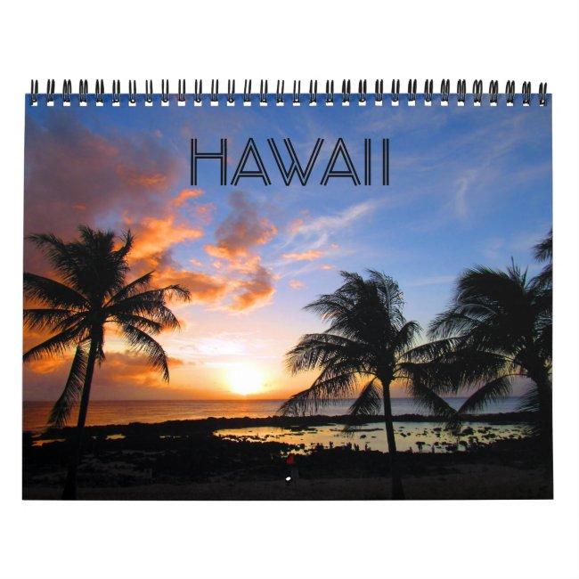 hawaii 2021 calendar