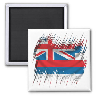 Hawaii 2 Inch Square Magnet