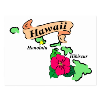 Hawaii 2 postcard