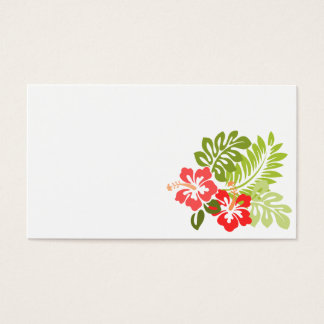 hawaii-309006  hawaii hibiscus flora floral flower business card