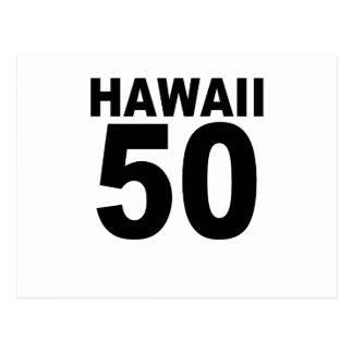 Hawaii 50.png postal