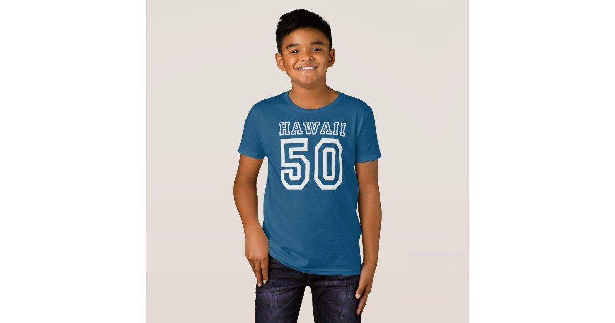 Hawaii 50 t shirt zazzle for Hawaii 5 0 t shirt